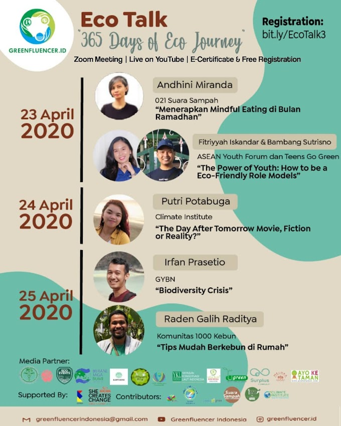 """[ECO-TALK #3 SPECIAL ANNIVERSARY] """"365 DAYS OF ECO JOURNEY"""""""