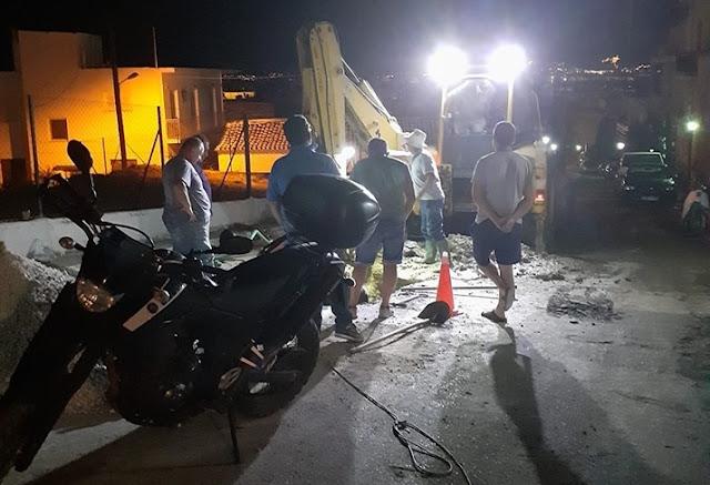 Παραπλανητική διαρροή σε αγωγό της ΔΕΥΑΡΜ στο Άργος