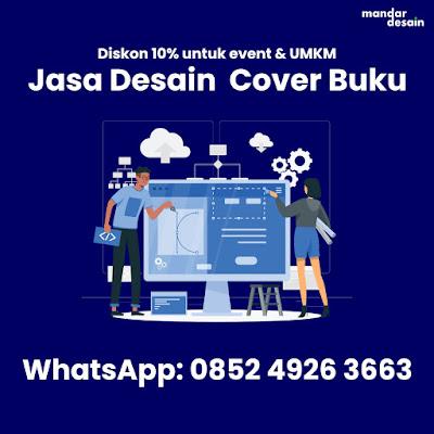Jasa Desain Cover Buku Profesional