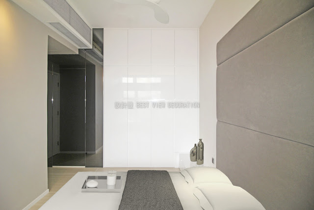 九肚山晉名峰睡房室內設計,The GrandVill bedroom interior design