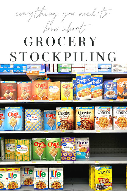 everything you need to know about grocery stockpiling