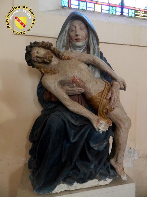 GIBEAUMEIX (54) - Eglise : pietà