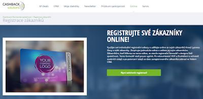 Cashback Program Professional aktualizace - online registrace