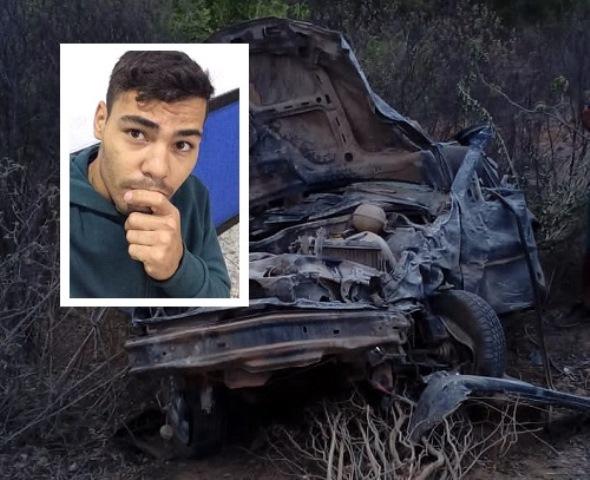 Chapada: Jovem é encontrado morto próximo de veículo capotado