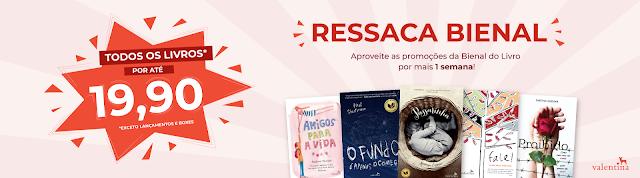 Editora Valentina: promoção Ressaca Bienal!