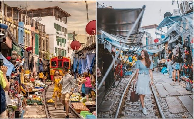 3 dangerous rails world into a famous tourist destination