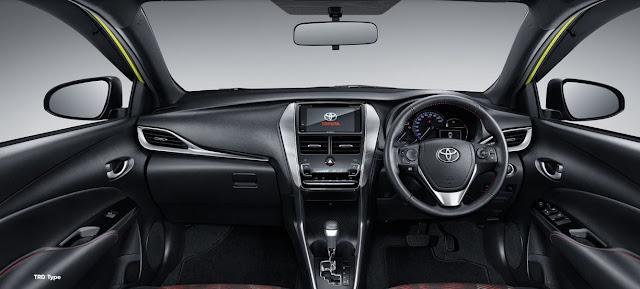 interior toyota new yaris_2020