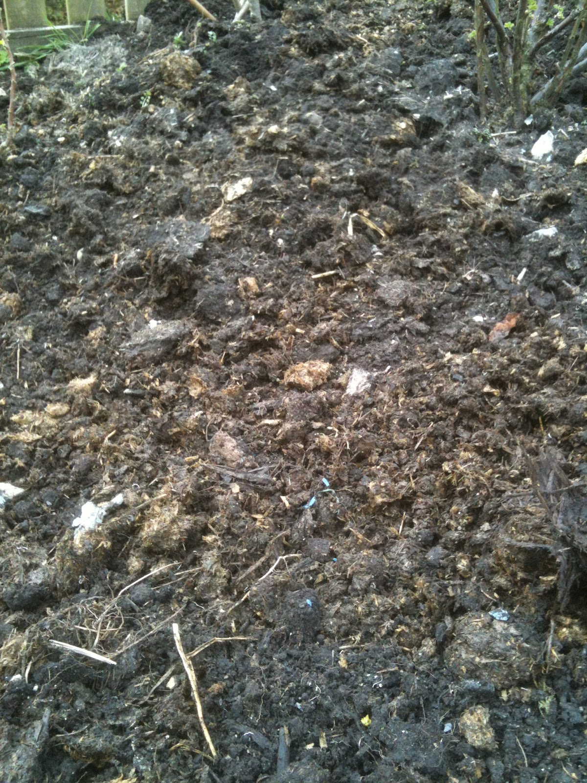Manure is a great soil conditioner but should not be part of a whole soil protection cycle.