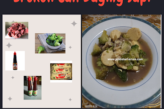 Brokoli Cah Daging Sapi