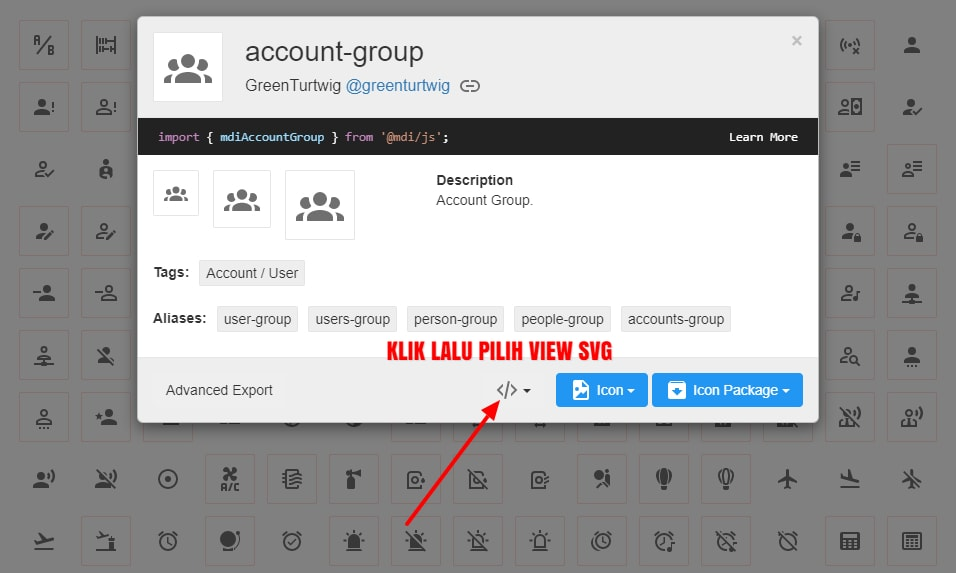 Free Download Ratusan Ikon SVG Gratis