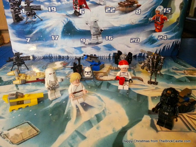 The LEGO Star Wars Advent Calendar Dec 13th Luke Skywalker