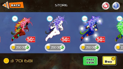 Saiyan Battle Z Goku Devil Mod Apk v1.4.2 (Unlimited Money)