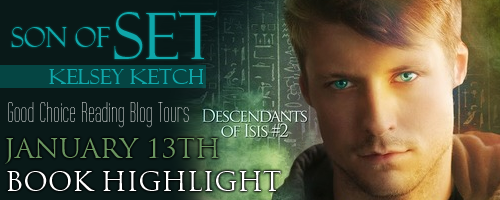 *BOOK HIGHLIGHT* SON OF SET by Kelsey Ketch