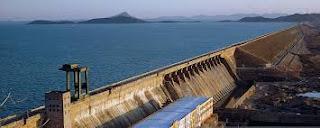 View of Hirakud Dam