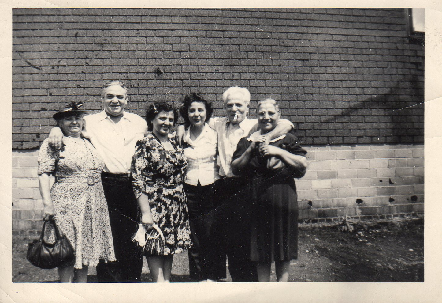 Aunts, cousins -Angelo and Nancy Amenta 1940s