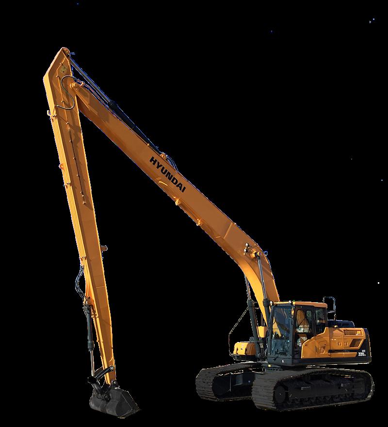 Hyundai Excavators HX220LR