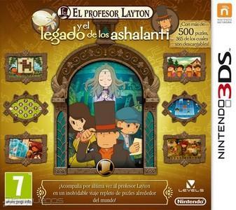 Rom El Profesor Layton y el Legado de los Ashalanti 3DS