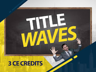 Title Waves | Free 3 Credit CE | Southampton | Lieb School | NY Real Estate Agents and Brokers