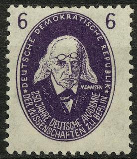 DDR 1950 Germany Theodor Mommsen