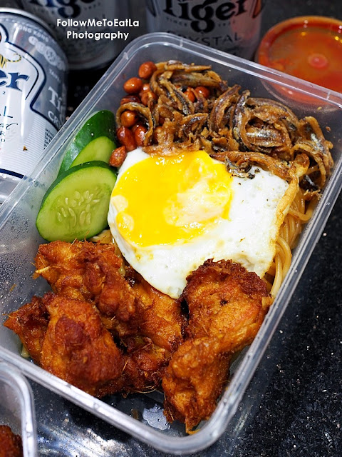 Delivery From Ground Eatery Nasi Lemak Pasta with Fragrant Fried Chicken RM 19