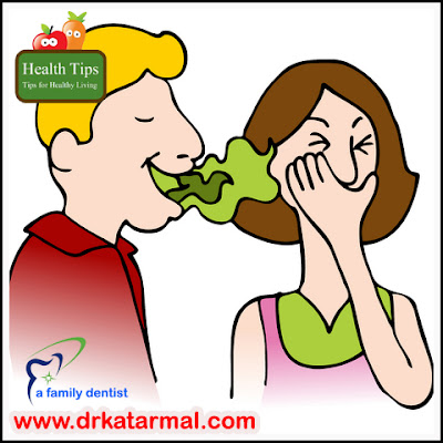 bad odour from mouth