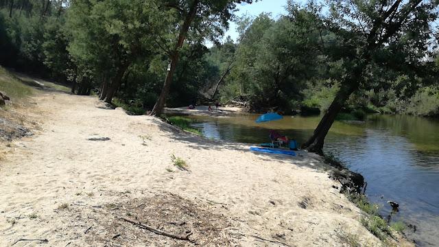 Margem da Praia Fluvial de Verim