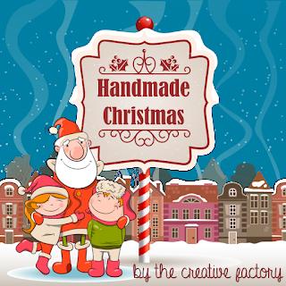 Memo board magnetica imbottita personalizzata - banner Handmade Christmas - MLI