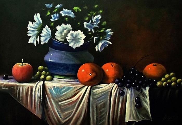 Пейзажи и натюрморты. Daniel Arago