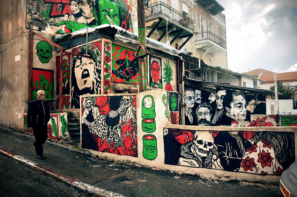 Broken Fingaz are currently in their hometown of Haifa in Israel, where they just finished working on a sick new piece.