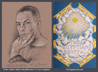 Frater Achad. Charles Stansfeld Jones. Occultist. Ordo Templi Orientis. The Egyptian Revival. by Travis Simpkins