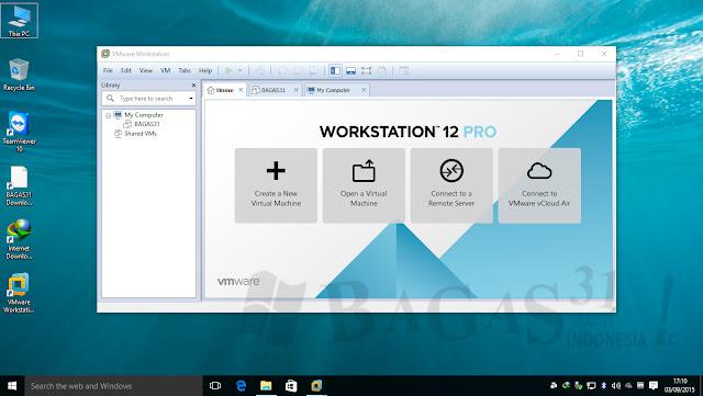 VMWare Workstation Pro 12.5.1