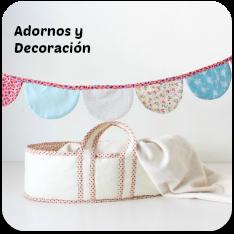 Adornos y decoración con tela
