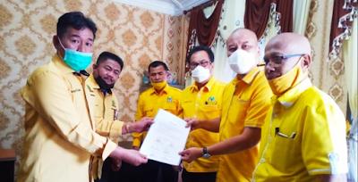 Partai Golkar Hunjuk Mangatas Silalahi Calon Wakil Walikota Siantar