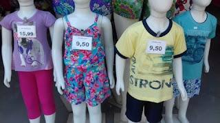 Pronta entrega de moda infantil para revenda