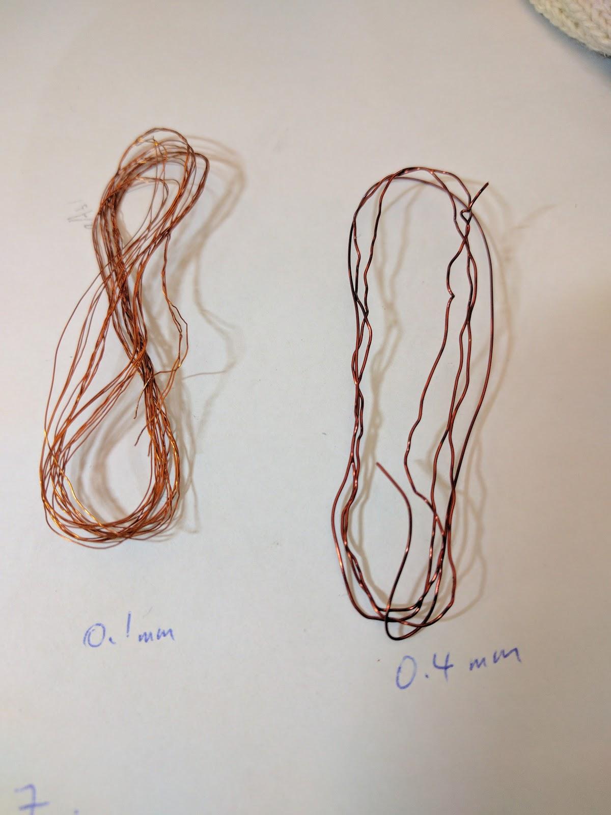 Rewinding of Emax MT2204 motor wires…