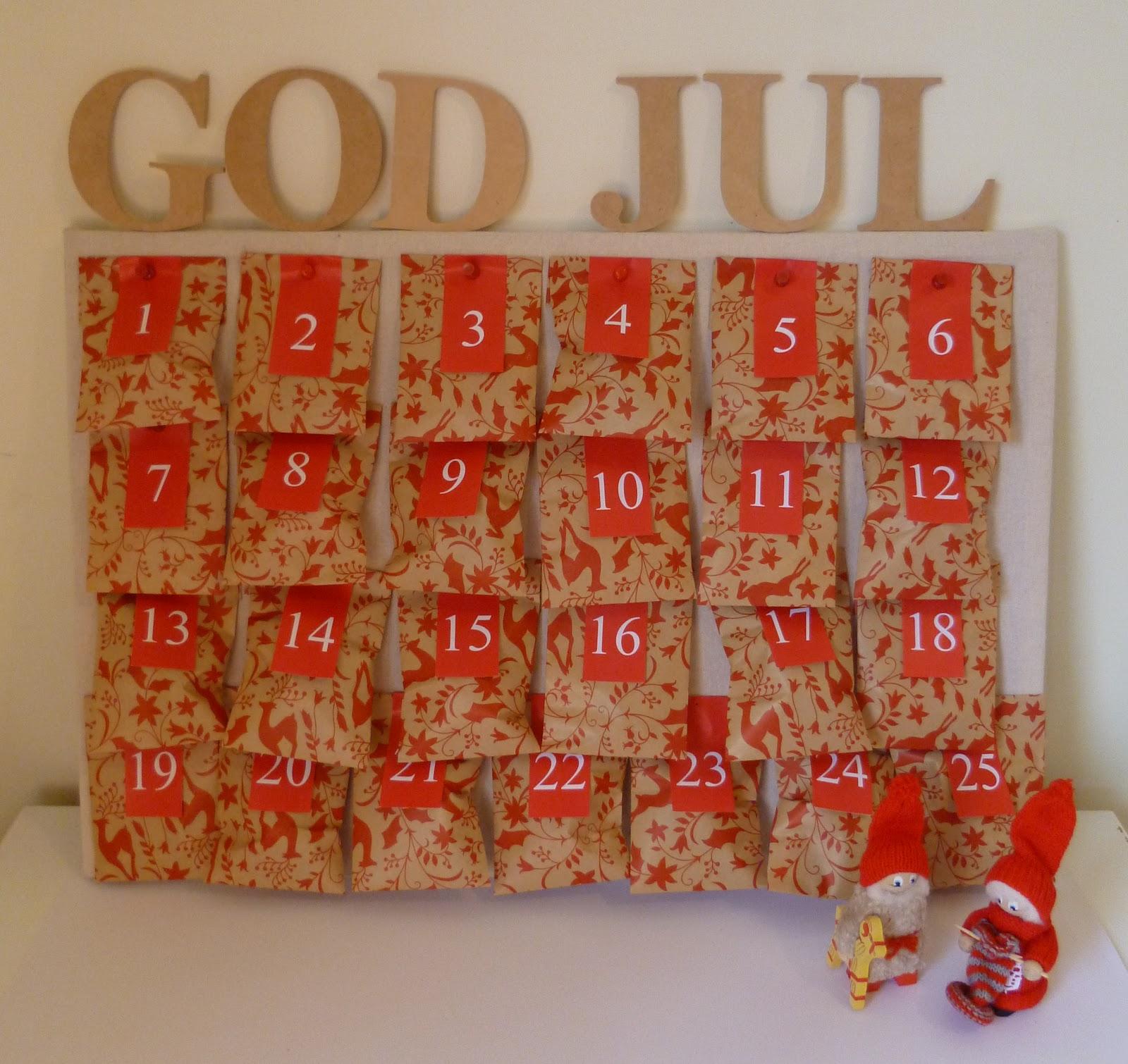 Revision Design: DIY Christmas Advent Calendar