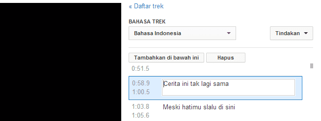 Cara Upload Subtitle (CC) pada Video YouTube 5