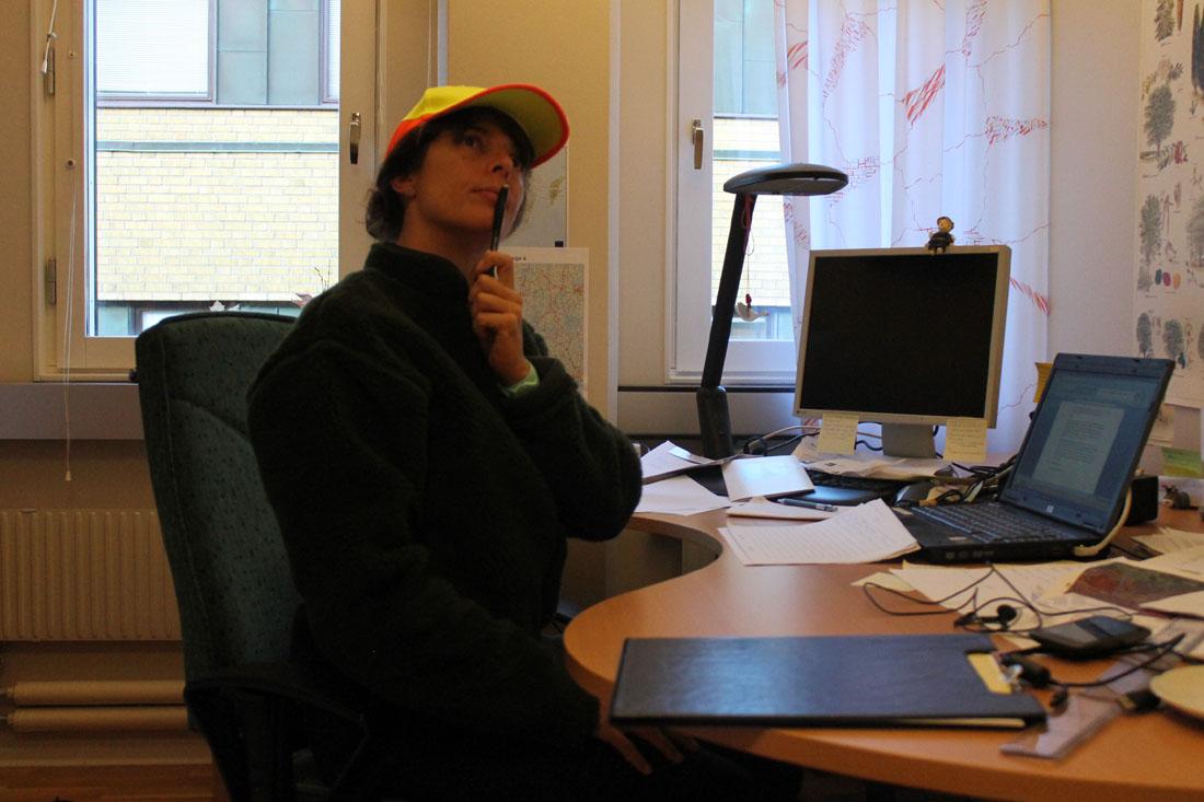 Io in ufficio nel 2012