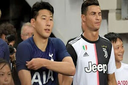 Son Bertukar Jersey Dengan Cristiano Ronaldo Son Merasa Sangat Bahagia