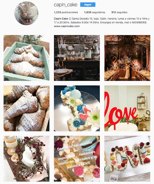 Instagram Capin Cake