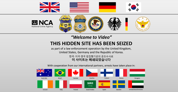 Feds Shut Down Largest Dark Web Child Abuse Site