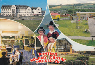 Pontin's Holiday Centre Prestatyn, Bamforth & Co. Ltd. WT948. Postally used, date unknown