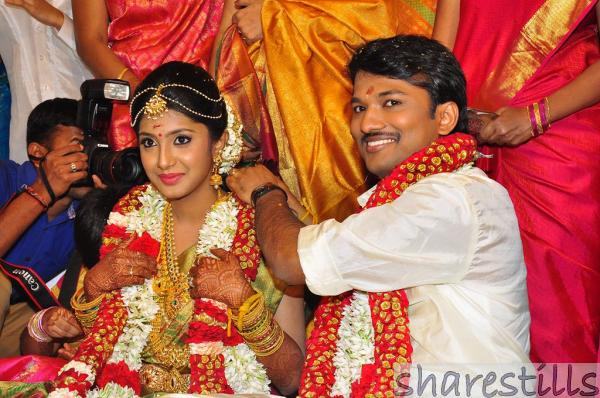 Shema, The Daughter Of Raj TV MD Tied Wedding Knot | Indian