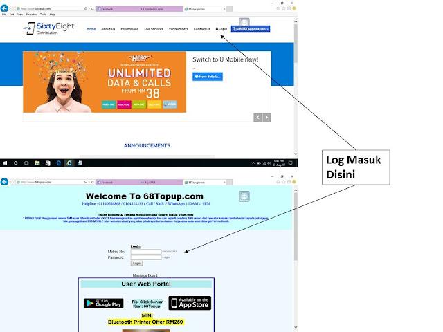 Manual Penggunaan Melalui Web (Untuk Komputer)