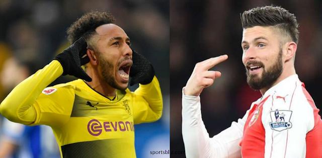 Arsenal Menginclude kan Olivier Giroud pada Transfer Aubameyang ke Arsenal??