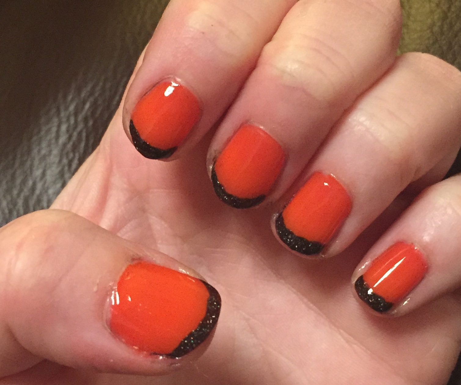 The Beauty of Life: Happy Halloween! Orange & Black French ...