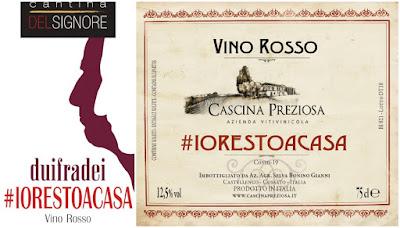 #ioresto a casa corona vino