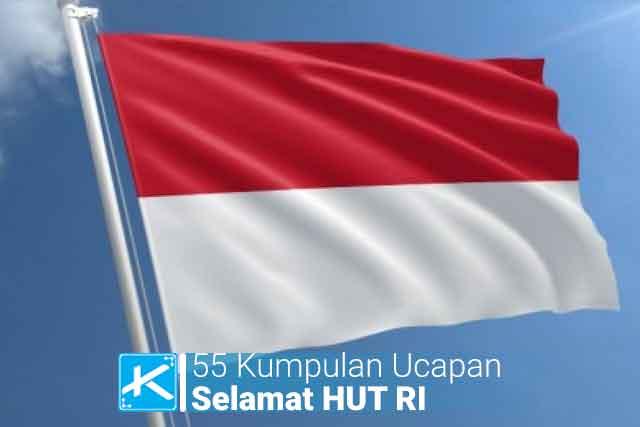 Kumpulan kata-kata mutiara ucapan singkat selamat hari kemerdekaan Indonesia (HUT RI ke-75) tahun 2020.
