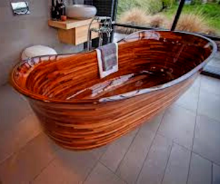 custom-wood-bathtub
