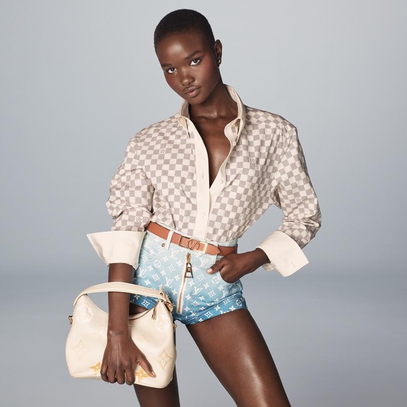 Akon Changkou poses for Louis Vuitton Summer 2021 campaign.
